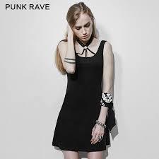 <b>PUNK RAVE</b> Punk Dark Bandage <b>Backless</b> Dress Summer Black ...