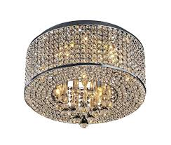 ceiling mount crystal chandelier heaven 7 light flush mount chrome crystal chandelier small ceiling mount crystal