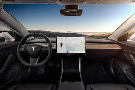 2018 tesla interior. brilliant tesla 2018 tesla model 3 dashboard interior inside tesla interior
