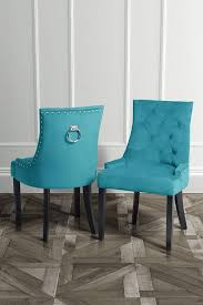 torino dining chair with back ring teal