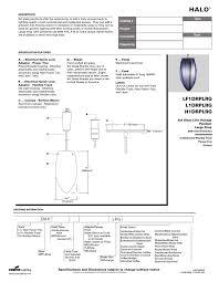 Cooper Power And Lighting Cooper Lighting H1drplrg Users Manual Manualzz Com