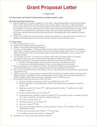 Grant Proposal Template Example Awesome Template For Grant Proposal Illustration Documentation 1