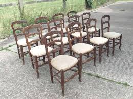 ladder back rush seat dining chairs antique furniture warehouse set twelve antique oak chairs set of set twelve antique oak chairs set
