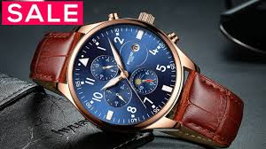 Top 10 Best watches For <b>Men</b> Under $50 - New Fashion Leather ...