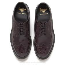 Men Seasonal In Brogues Boanil To The Leather give Merlot Line Discount Men's Are Brush the Is Dr Style Season Customers Back England' 'made 50 Formal Line Afford Fashionable Price And New Martens Old On Shoes