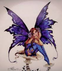 Amy Brown  ZOMBIE FAIRY  Love it    My Favorite Fairy Artist