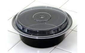 black plastic containers oz round plastic microwave safe containers black base with clear lid 7 x