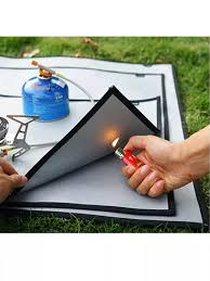 Newkits Fiberglass Great For Deck Insulation Pads Flame Retardant And High Temperature Fire Blanket Pad Oil Resistant Fire Pit Grill 46 X 35cm Anti Wear Fireproof Mat Lazada Singapore