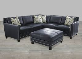 navy leather ottoman. Fine Navy Navy Blue Leather Sectional Sofa Navy Blue Leather Dining Chairs Intended Ottoman M