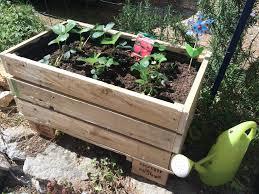 Construire Sa Jardini Re En Palettes Jardinage Pinterest