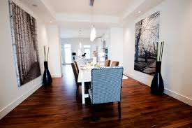 large canvas wall art dining room contemporary with artwork baseboards ceiling lighting image by fifth element homes