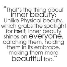 Quote Inner Beauty Best of That's The Thing About Inner Beauty Beauty Quote Quotespictures