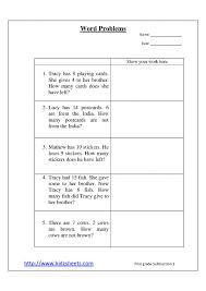 Freerst Grade Subtraction Worksheets Math Addition For Kids ...