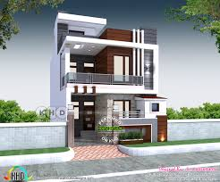 First Floor House Design Pictures 23x 55 House Plan With 3 Bedrooms Kerala Home Design