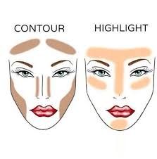 image result for contour tips with bronzer
