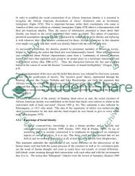 the impact of stereotypes on african american self perception essay  self perception essay example text preview