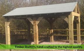 timber garden structures high quality timber shelters smoking shelters car ports wooden shelters from only 1500