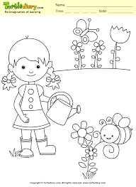 Posted in nature coloring pages. Garden Coloring Sheet Turtle Diary