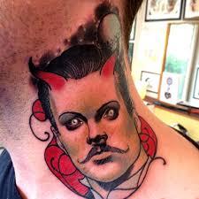 тату на шее мужчин 5 фото татуировки татушка