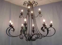 antique black iron chandelier black wrought iron chandeliers