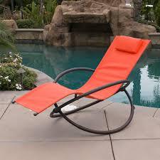 orbital foldable zero gravity lounger chair rocking furniture