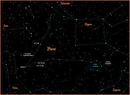 Pisces Constellation Star Chart Pisces Constellation Pisces Is One Of The Thirteen