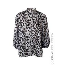 jo ch leopard print top