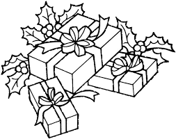 Small Picture Christmas Tree With Presents Coloring Pages GetColoringPagescom
