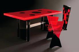 plexiglass desk colored mm chair mat