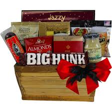 meat and snack gift basket
