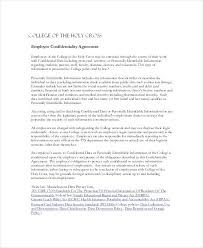 Printable Non Disclosure Agreement Template Customer Protection ...
