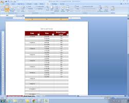 Blood Glucose Sugar Chart Excel Spreadsheet Template By
