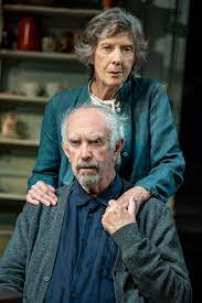 Eileen Atkins and Jonathan Pryce on The Height of the Storm Being 'Cheap  Marriage Counseling' & Their First Meeting 40 Years Ago | Broadway Buzz