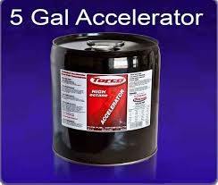 Torco Fuel Accelerator Chart Torco Unleaded Accelerator Raise 91 Pump Gas To 98 Octane 5 Gal Pail