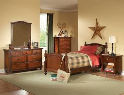 Brown Cherry Kids bedroom Set HE422 | Kids Bedroom