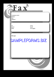 Funny Fax Cover Sheets Templates Samples Forms