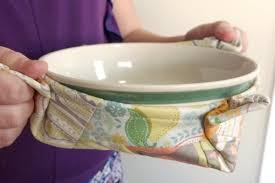 Microwave Bowl Potholder Free Pattern