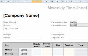 Free Printable Timesheet Templates Open Office Templates Time