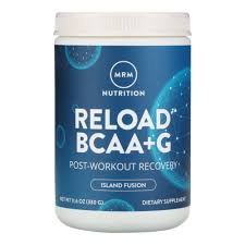 <b>RELOAD BCAA</b>+<b>G</b>, <b>Post</b>-<b>Workout Recovery</b>, Island Fusion, 11.6 oz ...