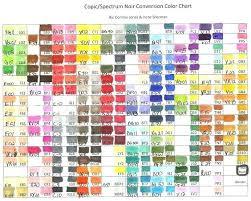 Sketch Copic Color Chart Futurenuns Info