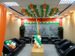 office party decorations. Best Republic Day Theme Balloon Decor For Office Birthdays Party Decoration Decorations S
