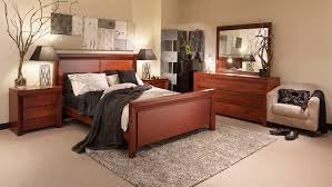 Giotto Jarrah Bedroom Suite