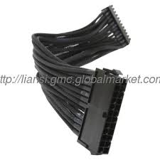 ls atx cable 031 1 wire harness 24 pin male to 20 4 pin wire harness 24 pin male to 20 4 pin female atx extension cable