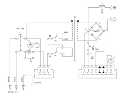 cambell hausfeld mig Welder Wiring Diagram this is the wiring diagram for the ch mig flux 105, model wg3000 hobart welder wiring diagram