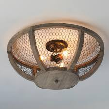 lighting for ceilings. chicken wire basket ceiling light small lighting for ceilings