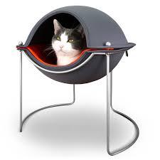 modern pet furniture. Hepper In Her Pod Cat Bed Modern Pet Furniture