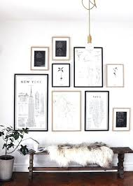 white wall picture frames gallery wall ideas best way to transform your home white wall white wall picture frames