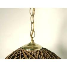 lamp chain brown hippie vintage hanging ceiling light rattan swag lamp hanging chain lamps home depot
