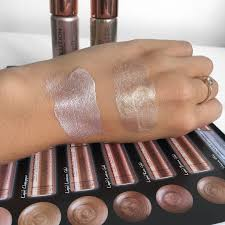 i don t know what makeup revolution used in these for such a great shine but wver it is it s definitely worked