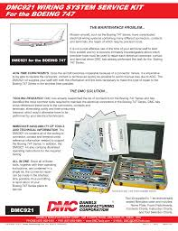 Daniels Crimp Chart Dmc921 Wiring System Service Kit For The Boeing 747